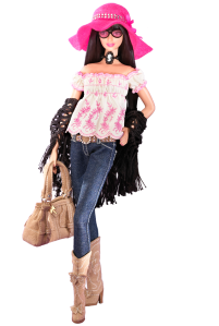 2006 Anna Sui Boho Barbie® Doll