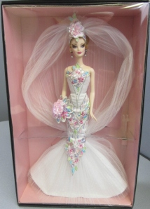 2006 Couture Confection™ Bride Barbie® Doll inside
