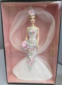 2006 Couture Confection™ Bride Barbie® Doll inside