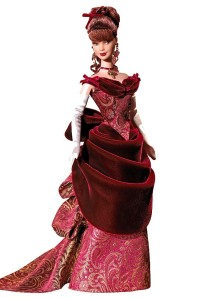 2006 Victorian Holiday® Barbie® Doll