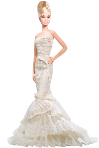 2008 The Romanticist Barbie® Doll blonde
