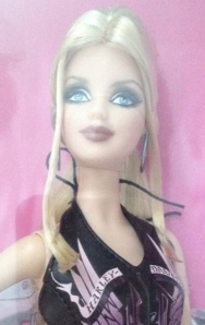 2009 Harley-Davidson® Barbie® Doll face