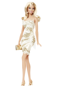 2010 Glimmer of Gold™ Barbie® Doll