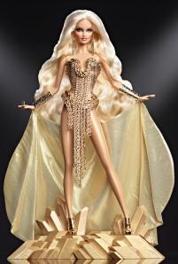 2013 Gold Barbie® Doll