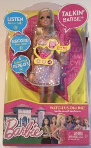 2013 Talking Barbie