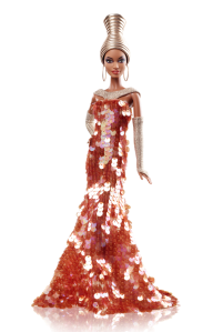 2013 tephen Burrows Alazne™ Barbie® Doll