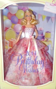 2014 Barbie Birthday Wishes NRFB
