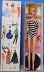 #4 Blond Ponytail Barbie MIB