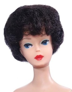 #850 Barbie Brunette 1st Issue Bubble Cut - mint