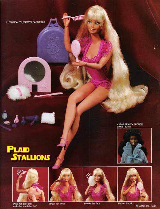 Ad 1980 Barbie