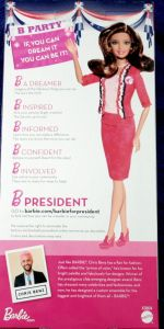 Barbie I Can Be president