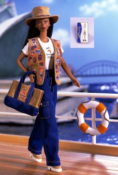 Barbie Sydney 2000 Olympic Pin Collector AA flyer