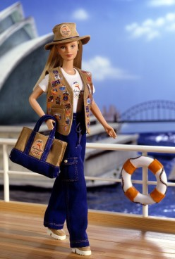 Barbie Sydney 2000 Olympic Pin Collector - Collector Edition Doll flyer