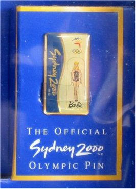Barbie Sydney 2000 Olympic Pin Collector - Collector Edition Doll pin