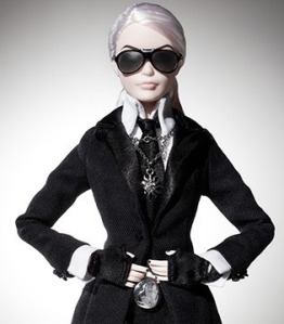 Karl Lagerfeld Barbie® Doll 2