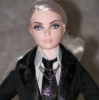 Karl Lagerfeld Barbie® Doll face