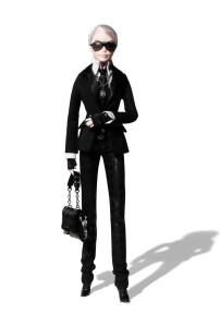 Karl Lagerfeld Barbie® Doll