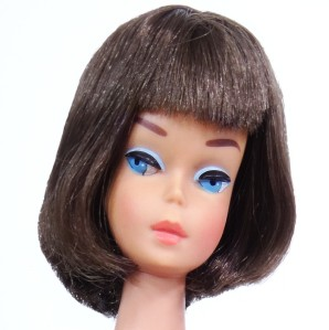 Long Black Hair Medium Color American Girl Barbie
