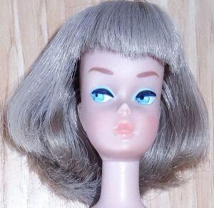 Silver AM long hair