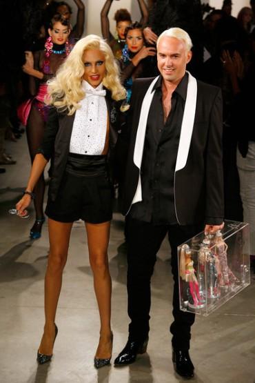 The Blonds Designers Phillipe Blond and David Blond