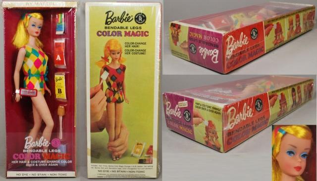 1966 #1150 Barbie Color Magic