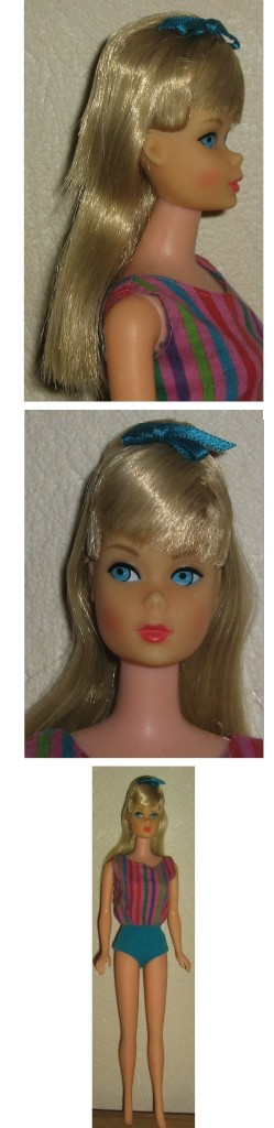 1967 German Bend Legs Barbie pink skin 1958 TNT face