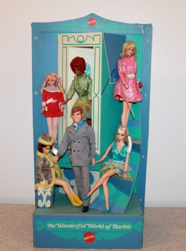 1970 Mattel Barbie Toy Store Counter Top Display