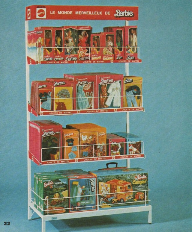 1977 Shopdisplay from France.