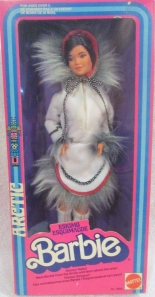 1981  #3898  ESKIMO Dolls of the World Barbie Doll