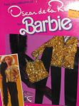 1984 OSCAR DE LA RENTA FOR BARBIE GOLD & BLACK FASHION #9261COLLECTOR SERIES VII