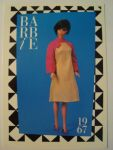 1990 Mattel Barbie Trading Card 1st Edition 278 1967 Braniff Boarding Outfit3