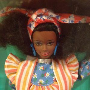 1992 Jamaican. Barbie doll f