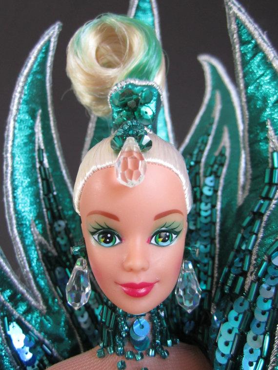 "Mattel /""Mackie Face/""long hair Barbie doll OOAK NEW-1990s"