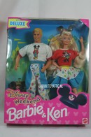 1993 Disney Weekend Barbie and Ken gift set sold only in Europe