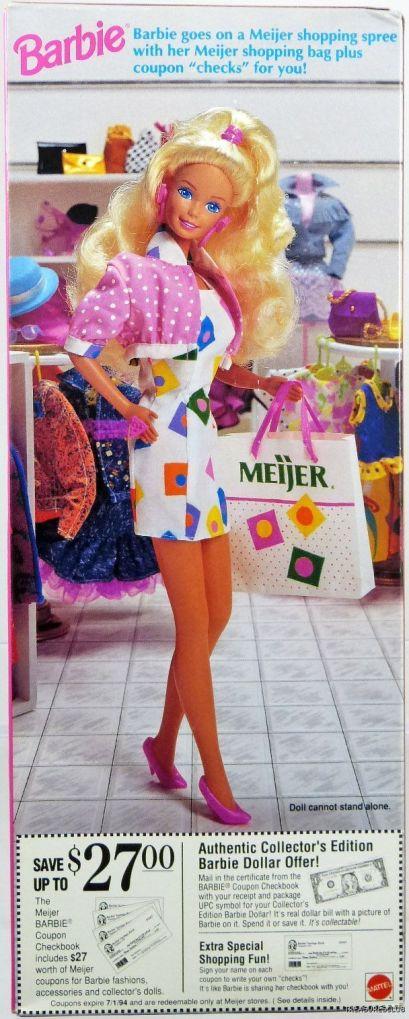 1993 Meijer Shopping Fun ad