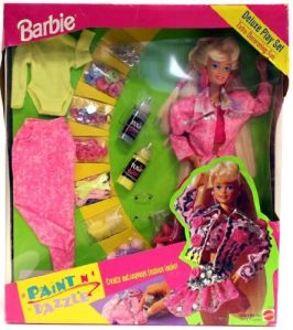 1993 Sam's Club Paint N Dazzle Deluxe Play Set
