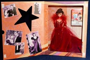 1994 Scarlett O'Hara in red gown i