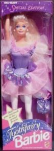 1994 Wal-Mart Tooth Fairy in pink and lilac