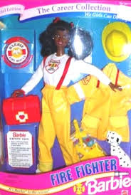 1995 Toys R Us Firefighter aa