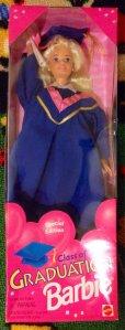 1996 Graduation blue