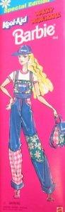 1996 Kool-Aid Wacky Warehouse denim overalls box