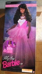1996  My Size Princess Ballerina aa