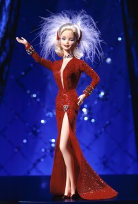 1997 Marilyn Monroe in Gentlemen Prefer Blondes red f