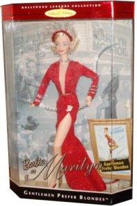 1997 Marilyn Monroe in Gentlemen Prefer Blondes red nrfb