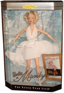 1997 Marilyn Monroe in The Seven Year Itch white nrfb