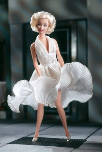 1997 Marilyn Monroe in The Seven Year Itch white