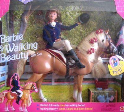 1998 J.C. Penney Walking Beauty gift set