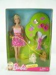 2015 Barbie Doggie Park Play Set n
