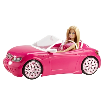 2015 BARBIE® Glam Convertible & Doll.