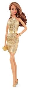 2015 City Shine™ Barbie® Doll - Gold Dress